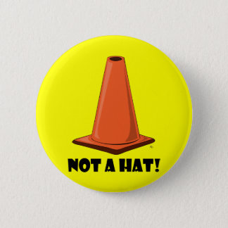 CONE HAT 2t Pinback Button