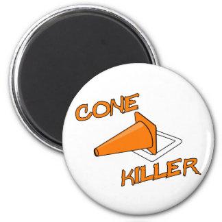Cone Killer 2 Inch Round Magnet