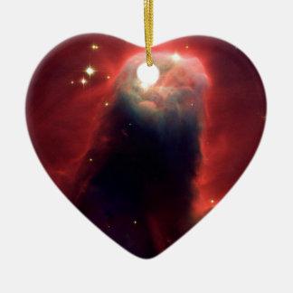 Cone Nebula (Hubble Telescope) Ceramic Ornament