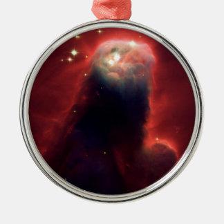 Cone Nebula (Hubble Telescope) Metal Ornament