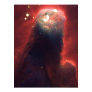 Cone Nebula in space NGC 2264 Letterhead