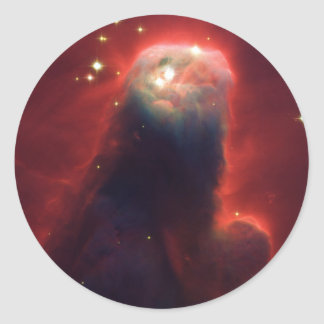 Cone Nebula NGC 2264 Taken by the Hubble Telescope Stickers