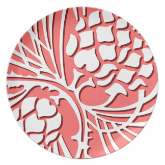 Cone of Elegance - rose Plate