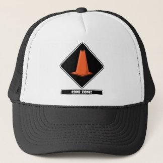 CONE ZONE bk Trucker Hat