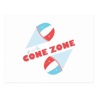 Cone Zone Postcard