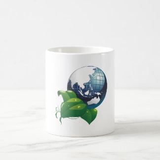 Conecta a tierra Asia earth asia Tazas De Café