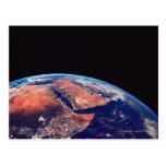 Conecte a tierra de un satélite 3 tarjetas postales
