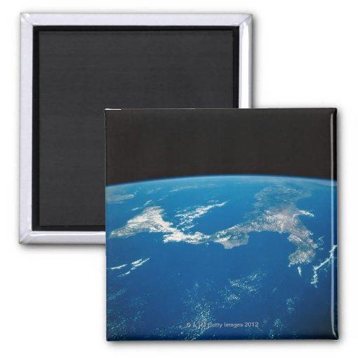 Conecte a tierra de un satélite 4 iman para frigorífico