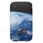 Conecte a tierra de un transbordador espacial 2 iPhone 3 tough carcasa