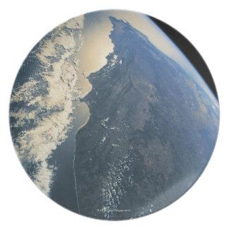 Conecte a tierra del espacio 11 plato
