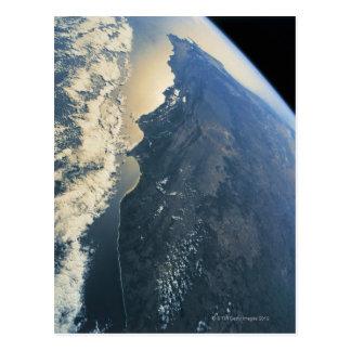 Conecte a tierra del espacio 11 tarjeta postal