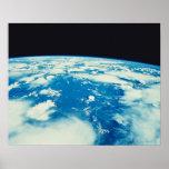 Conecte a tierra del espacio 12 póster