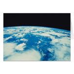 Conecte a tierra del espacio 12 tarjeta de felicitación