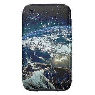 Conecte a tierra del espacio 20 iPhone 3 tough fundas