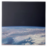 Conecte a tierra del espacio 21 azulejo cuadrado grande