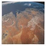 Conecte a tierra del espacio 24 azulejo