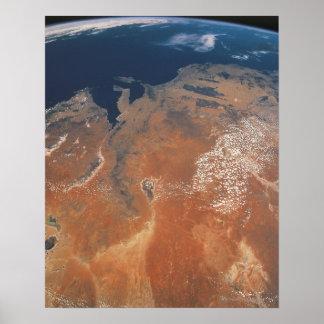 Conecte a tierra del espacio 24 impresiones
