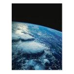 Conecte a tierra del espacio 27 tarjetas postales