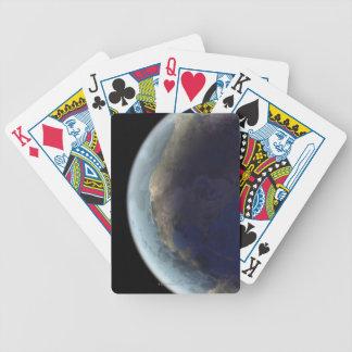 Conecte a tierra del espacio 6 barajas