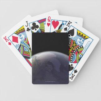 Conecte a tierra del espacio 9 cartas de juego