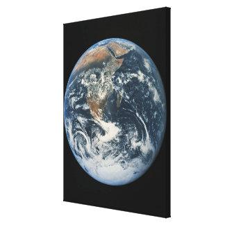 Conecte a tierra del espacio 9 impresiones de lienzo