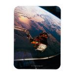 Conecte a tierra del transbordador espacial 3 iman rectangular