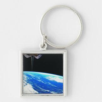 Conecte a tierra del transbordador espacial 4 llavero personalizado