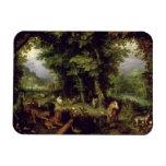 Conecte a tierra o el paraíso terrestre, 1607-08 ( iman de vinilo