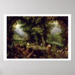Conecte a tierra o el paraíso terrestre, 1607-08 ( impresiones