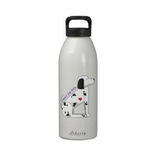 Conecte los puntos botella de agua reutilizable