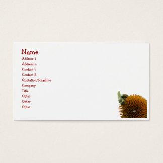 Coneflower & Eastern Carpenter Bee Items Business Card