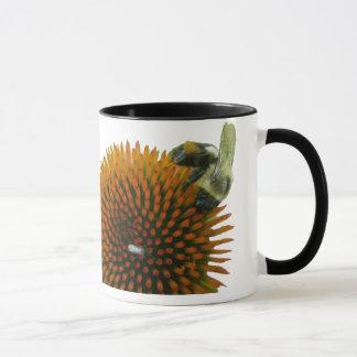 Coneflower & Eastern Carpenter Bee Items Mug
