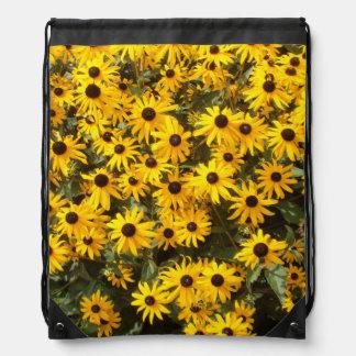 Coneflower Floral Flower Backpack