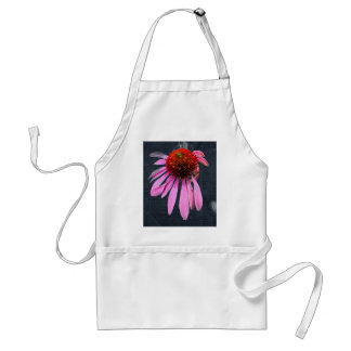 Coneflower on Denim Coordinating Items Adult Apron