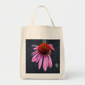 Coneflower on Denim Coordinating Items Tote Bag