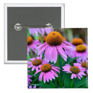 Coneflower Pin Cuadrada 5 Cm