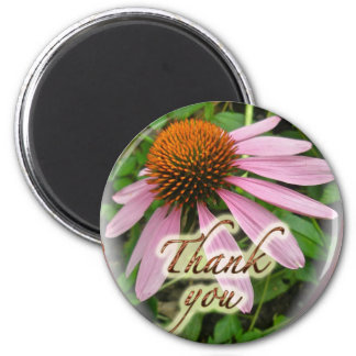 Coneflower Thank You Coordinated Items Magnet