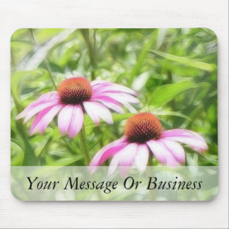 Coneflower Twins Mouse Pad