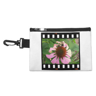 coneflower with bumble bee accessory bags