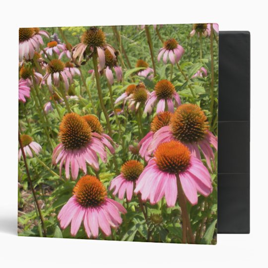 "Coneflowers 2"" Binder"