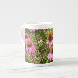 Coneflowers Bone China Mug Tea Cup