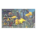 Coneflowers Business Card Template