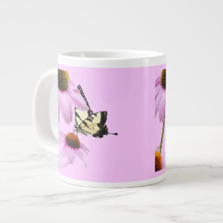 Coneflowers Butterfly Mug