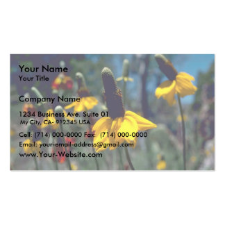 Coneflowers Double-Sided Standard Business Cards (Pack Of 100)
