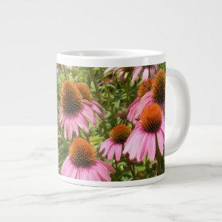 Coneflowers Jumbo Mug 20 Oz Large Ceramic Coffee Mug