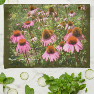 Coneflowers Kitchen Towels