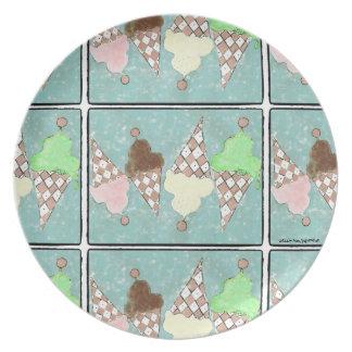 """Conehead Heaven Cake Plate. Plate"