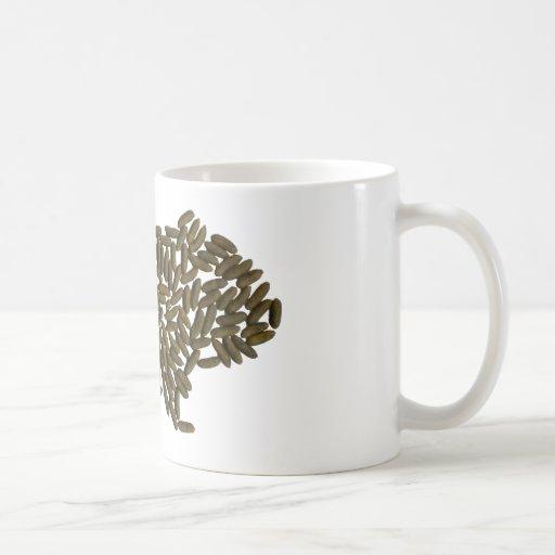 Conejillo de Indias clásico Taza De Café