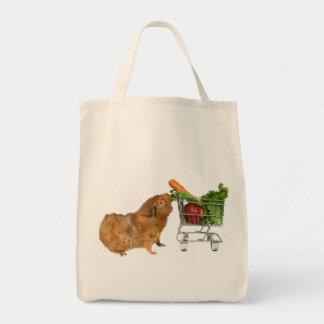 Conejillo de Indias de las compras Bolsa Lienzo