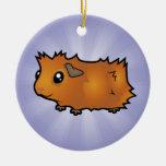 Conejillo de Indias del dibujo animado (desaliñado Ornamente De Reyes